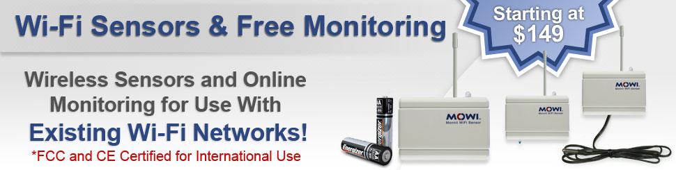 Monnit Wi-Fi Wireless Sensors