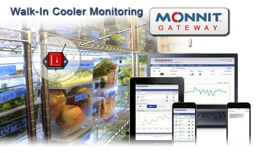 Monnit Remote Monitoring Solutions for Walk-In Coolers