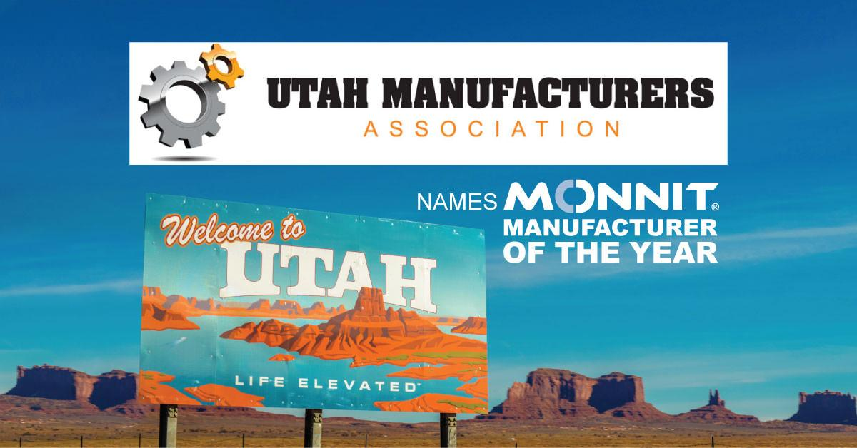 Utah Manufacturers Association names Monnit Manufacturer of the Year