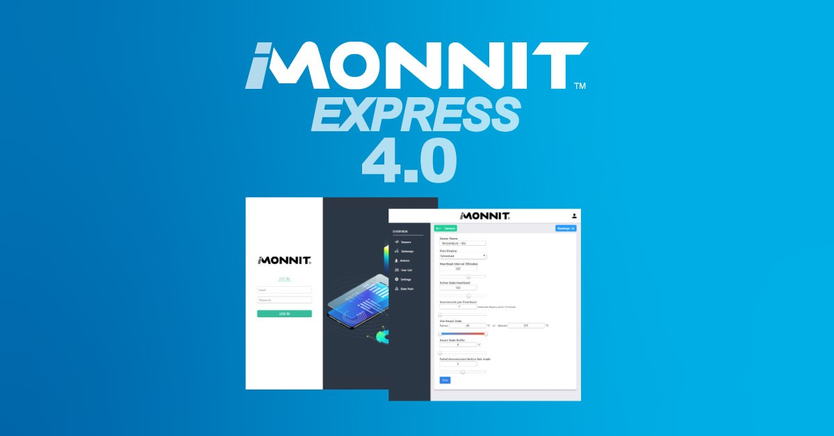 Monnit Launches All-New Express 4.0 Software