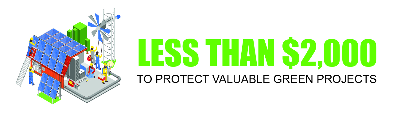 protect valuable green projects