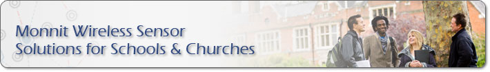 Monnit Wireless Sensor Solutions for Schools & Churches