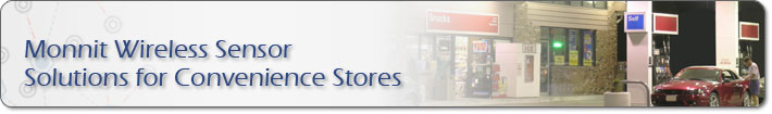 Monnit Wireless Sensor Solutions for Convenience Stores