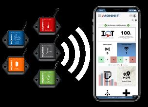 Monnit sensors and app