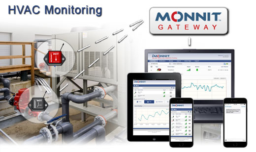 Monnit Wireless Sensor Solutions for HVAC Systems Testing and Monitoring