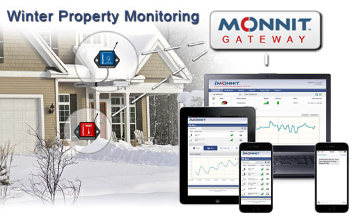 Monnit Remote Business and Home Monitoring Solutions for Winter