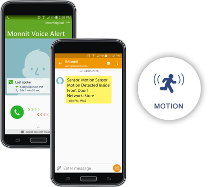 Monnit Remote Monitoring Test Message or Phone Call