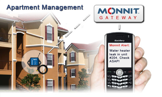 Monnit Wireless Sensor Solutions for Apartment Property Management