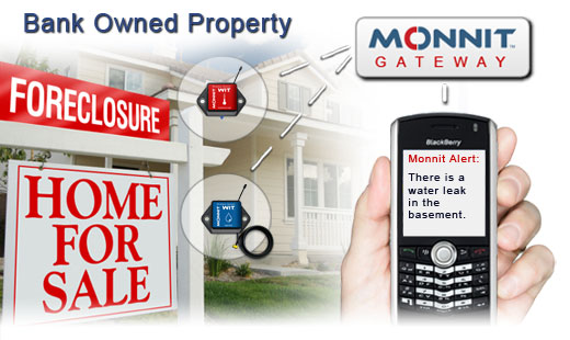 Monnit Wireless Sensor Solutions for Bank Owned Property Monitoring