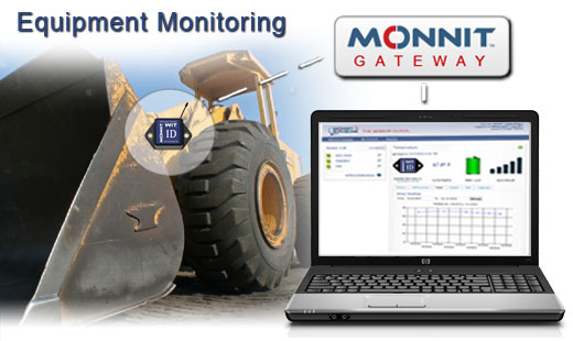 Monnit Wireless Sensor Solutions for Construction Equipment
