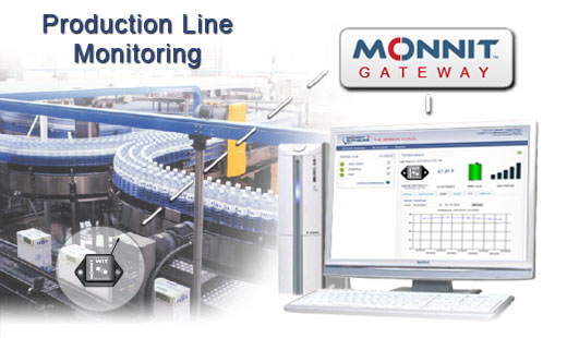 Monnit Wireless Sensor Solutions to Monitor Production Line Equipment
