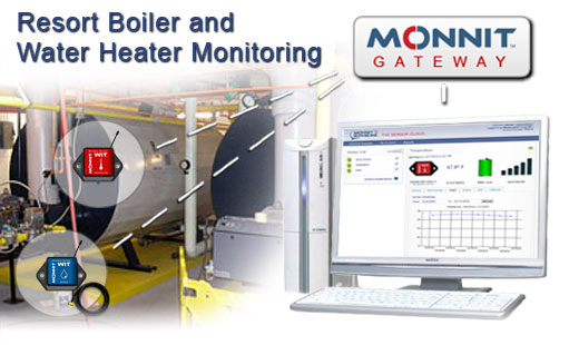 Monnit Wireless Sensor Solutions for Boiler Monitoring