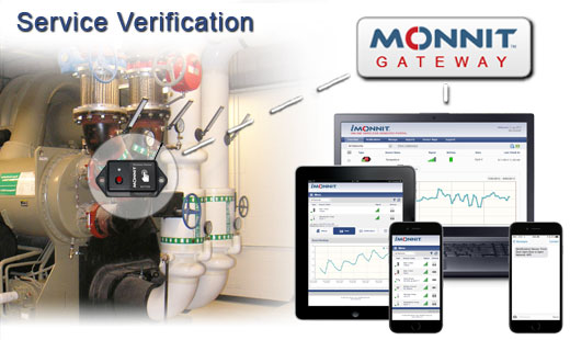 Monnit Wireless Sensor Solutions for Service Verification