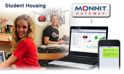 Monnit Wireless Sensor Solutions for Student Housing Monitoring