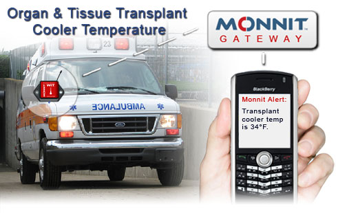Monnit Wireless Sensor Solutions to Monitor Organ and Tissue Transplant Cooler Temperatures