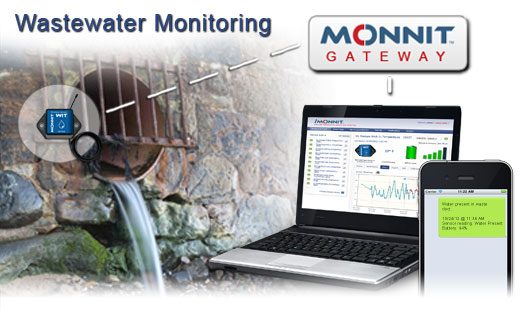 Monnit Wireless Sensor Solutions for Wastewater Monitoring