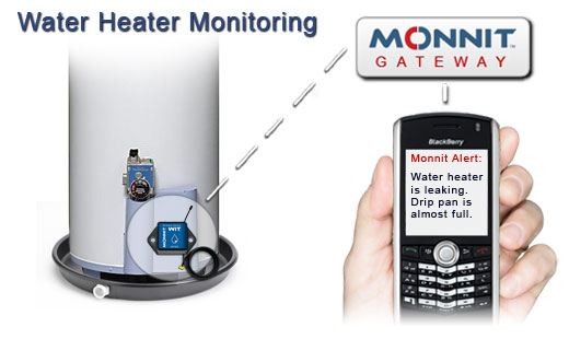 Monnit Wireless Sensor Solutions for Water Heater Monitoring