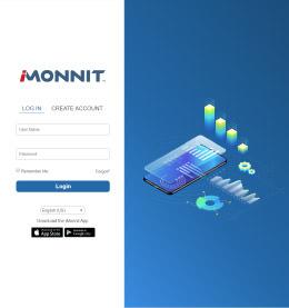 iMonnit Enterprise 4.0 login screen