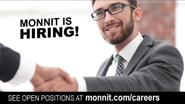 Monnit is hiring. See open positions at monnit.com/careers