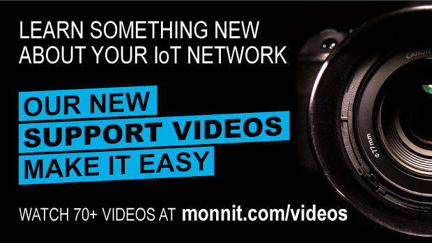 Our new support videos make learning more about your IoT network easy