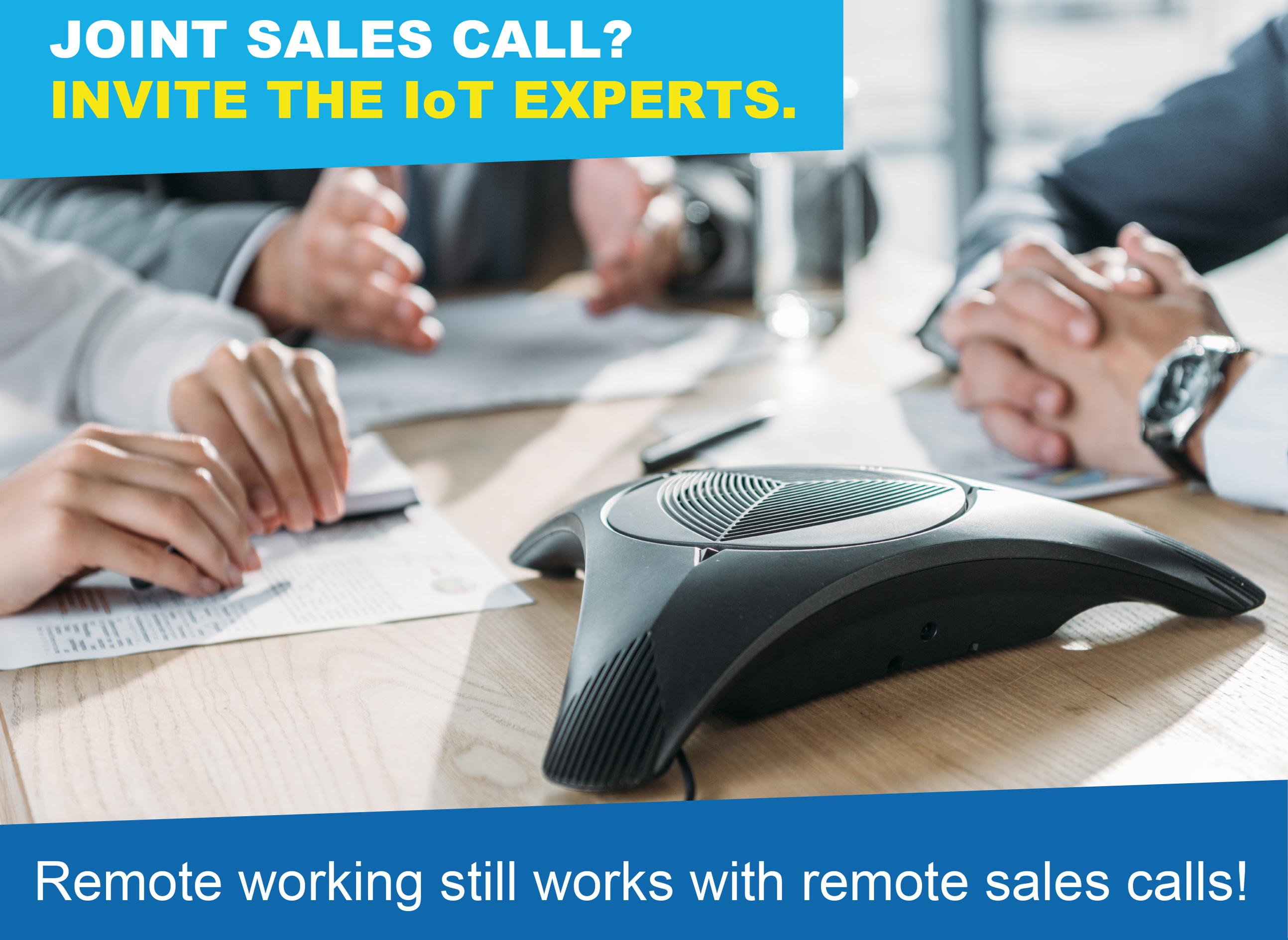 remote sales calls