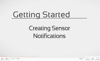 Creating Sensor Notifications in iMonnit