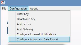 Configure Express Export