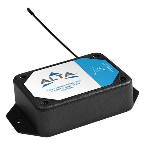 ALTA Accelerometer - G-Force Snapshot - Commercial AA Battery Powered