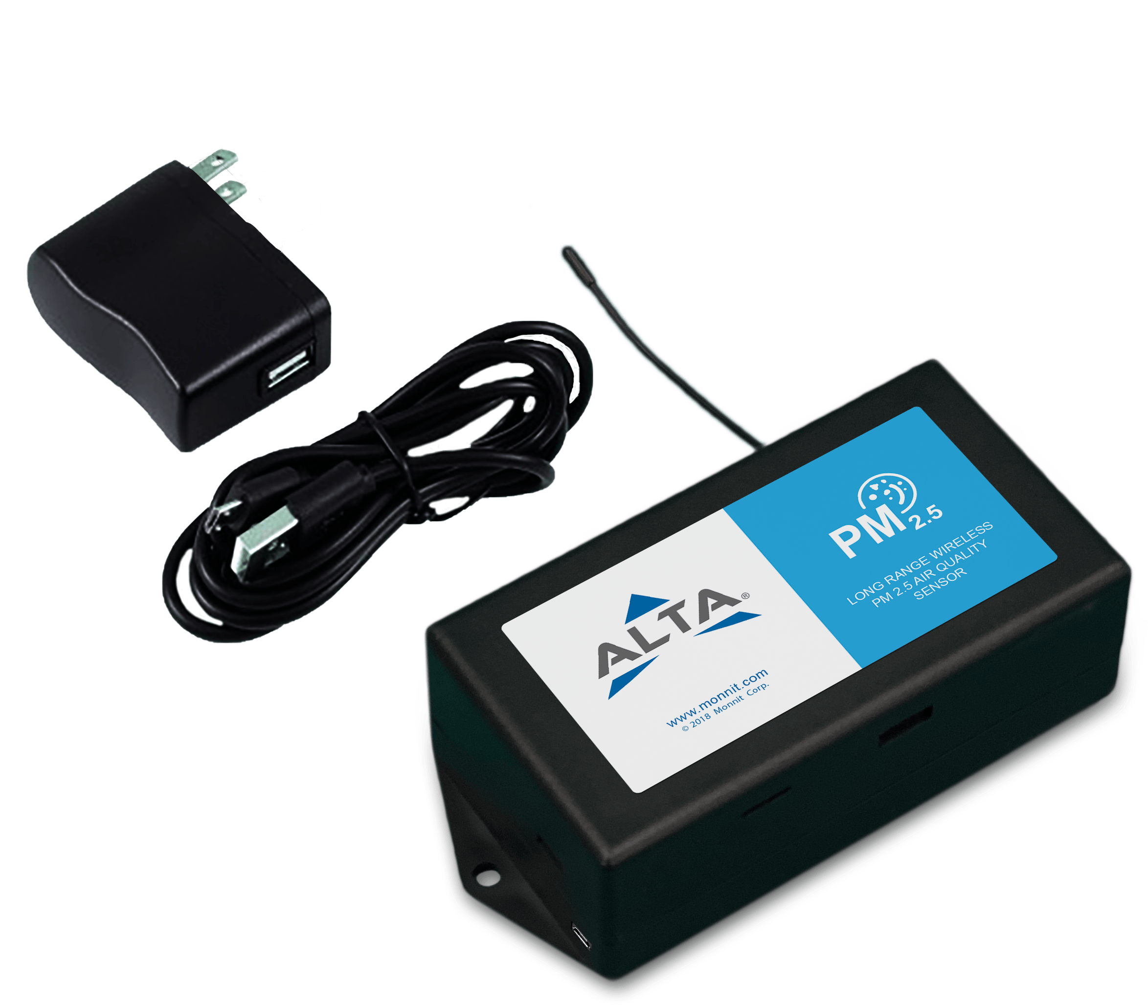ALTA Monnit Wireless Air Quality – PM Meter AA