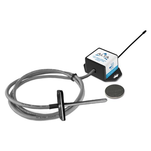 ALTA Wireless Duct Temperature Sensor - Coin Cell Powered