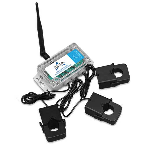 ALTA Industrial Wireless Three Phase Current Meter - 150 Amp