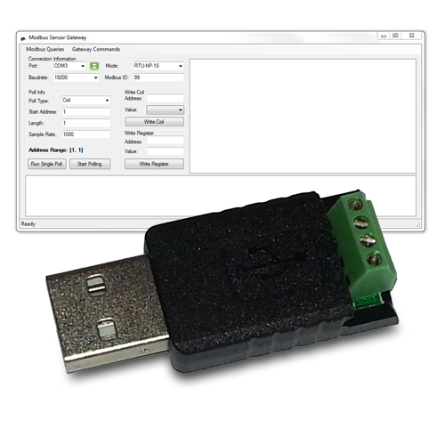 Serial Modbus USB Programmer