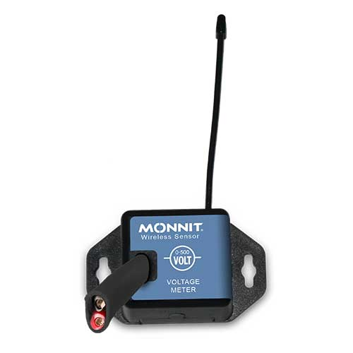 Monnit Wireless Voltage Meters - 0-500 VAC - Commercial Coin Cell Powered
