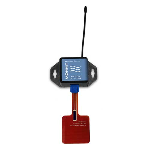 Monnit Wireless Airflow Detectors - Commercial Coin Cell Powered