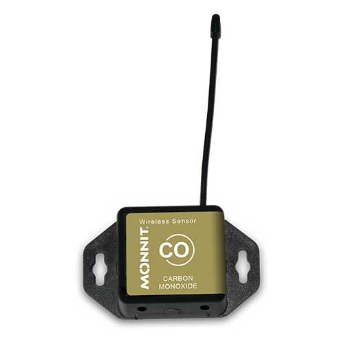 Monnit Wireless Carbon Monoxide (CO) Gas Sensor - Commercial Coin Cell Powered