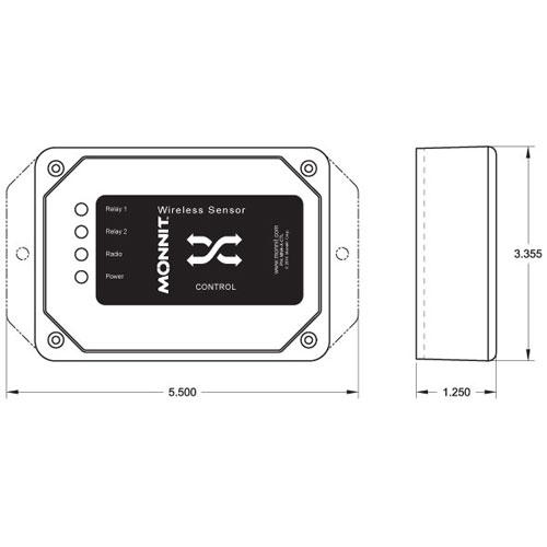 10 Amp Wireless Control specs
