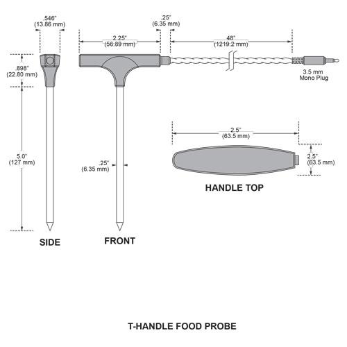 T-Handle Probe measurements