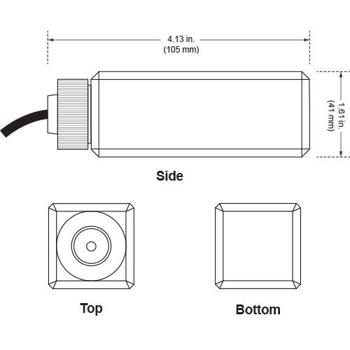 Glycol Temperature Buffer bottle measurements