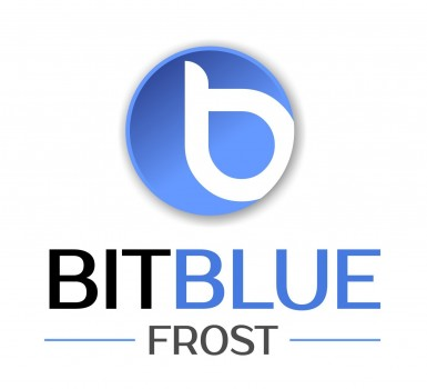 BitBlue Frost Logo