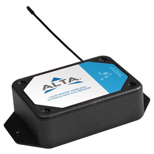 Wireless G-Force Max-Avg Accelerometer - Commercial AA Battery Powered