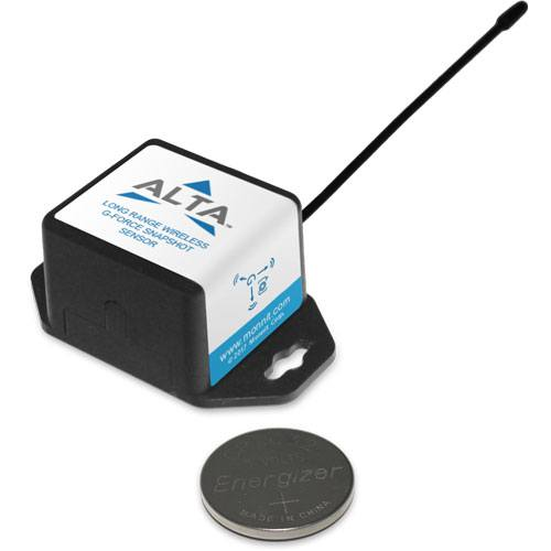 coin cell wireless g-force snapshot accelerometer sensor with battery for scale