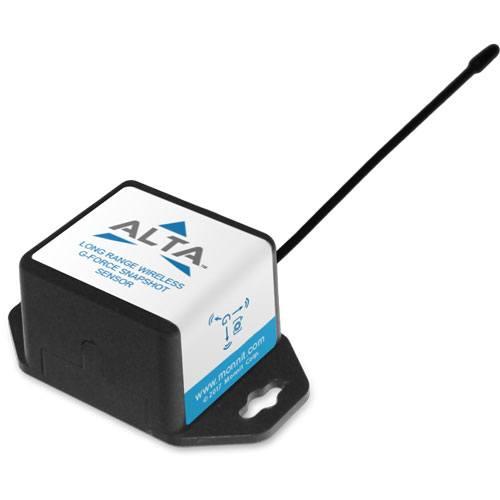 coin cell wireless g-force snapshot accelerometer sensor