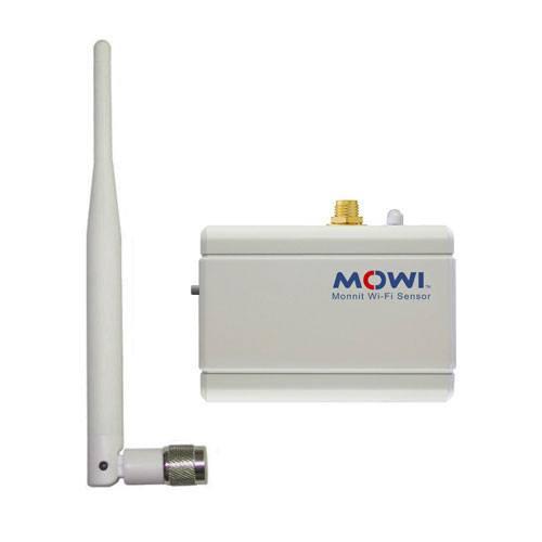 Wi-Fi button press sensor with RPSMA antenna connector