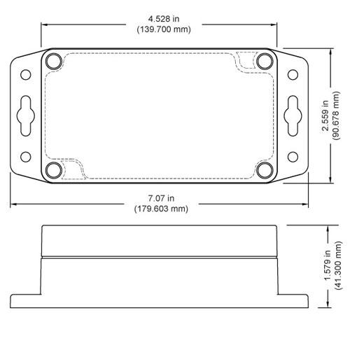 Industrial differential air pressure sensor measurements