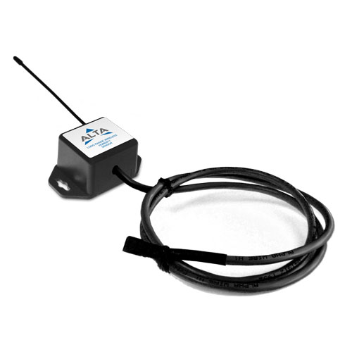coin cell powered humidity sensor with lead