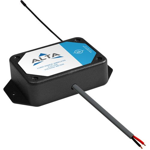 Commercial wireless 10 VDC voltage meter