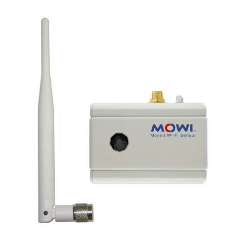 Wi-Fi infrared motion sensor with RPSMA antenna mount