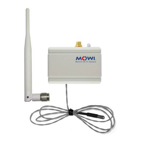 WiFi low temperature sensor with RPSMA antenna connector