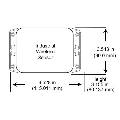 Wireless vehicle detection sensor measurements